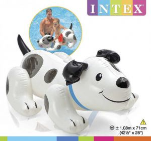 Phao bơi Intex hình chó đốm kt 1.08mx 71cm