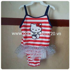 Đồ bơi bé gái 2T-3T Hello Kitty hàng xuất khẩu