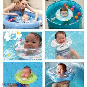 Phao nâng cổ tập bơi bé trên 6 tháng