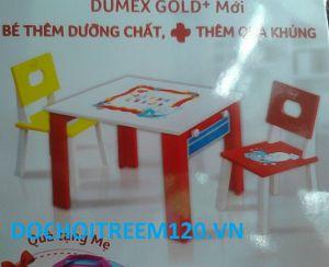 Bộ bàn học bằng gỗ Dumex (1 bàn + 1 ghế)
