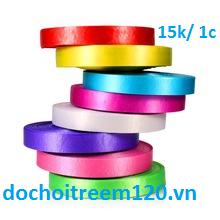 Cuộn dây ruy băng nylon màu