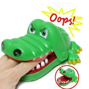 Đồ chơi khám răng cá sấu bằng nhựa