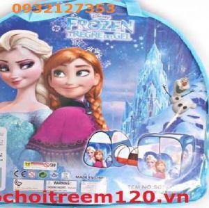Lều banh/nhà banh liên hoàn & ống chui Frozen