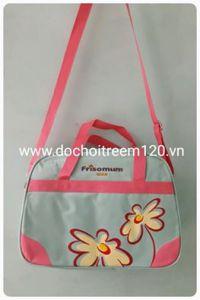 Túi xách cho mẹ Frisomum in hoa