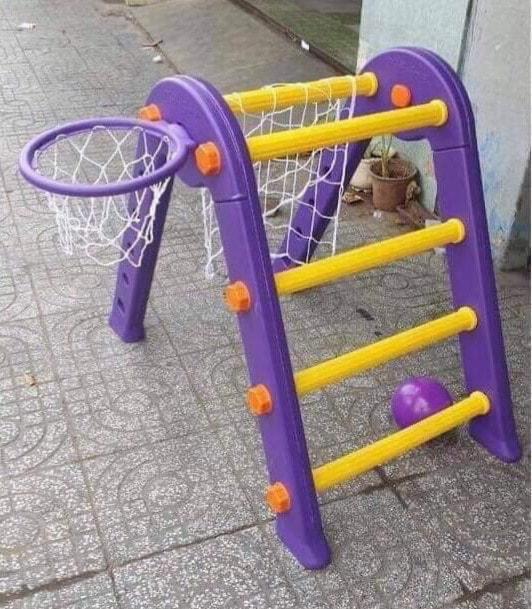 Bộ đồ chơi vận động đa năng Pediasure (Bóng rổ – Bóng đá – Leo Núi)
