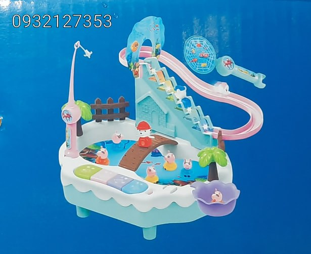Bộ đồ chơi Câu cá và và trượt nước  có nhạc.  hàng quà tặng từ ENFA