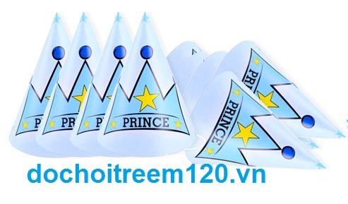 Set 6 nón sinh nhật Prince