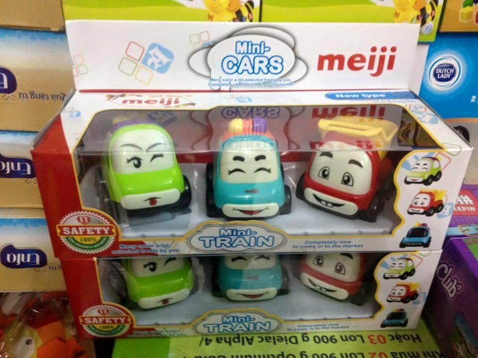 Set 3 xe chạy trớn Meiji
