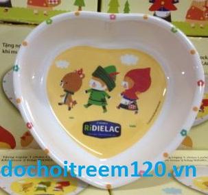 Chén hình trái tim Lock&Lock quà tặng từ Dielac