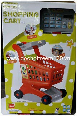 Xe đẩy siêu thị Shopping Cart