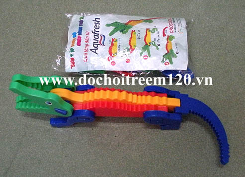 Xếp hình cá sấu 3D Aquafresh