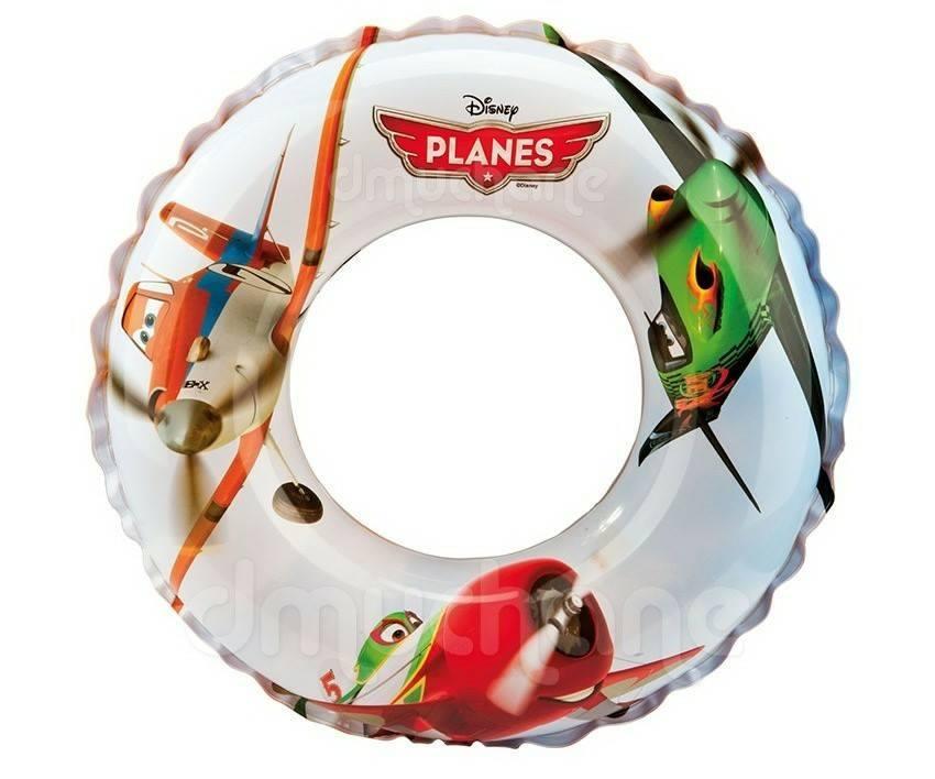 Phao bơi tròn Intex hình máy bay 61cm
