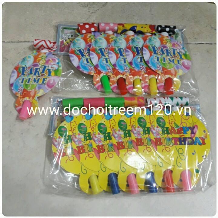 Set 6 cái kèn le lưỡi (có nhiều mẫu)