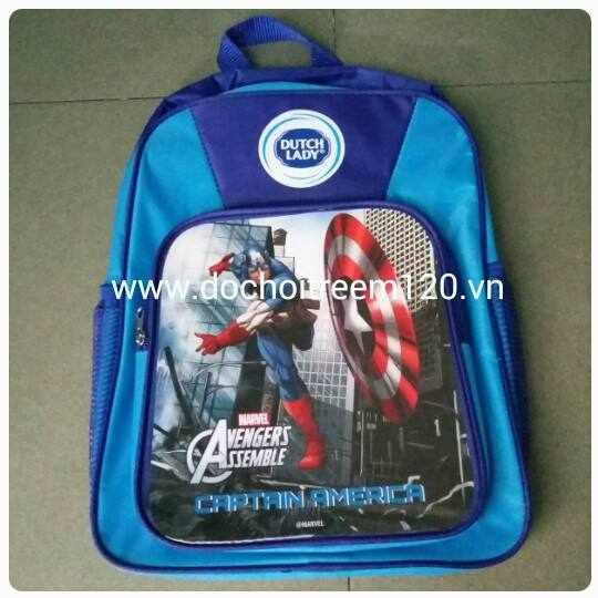 Balo cho bé trai hình Captain America, Thor, Iron Man - Dutch Lady