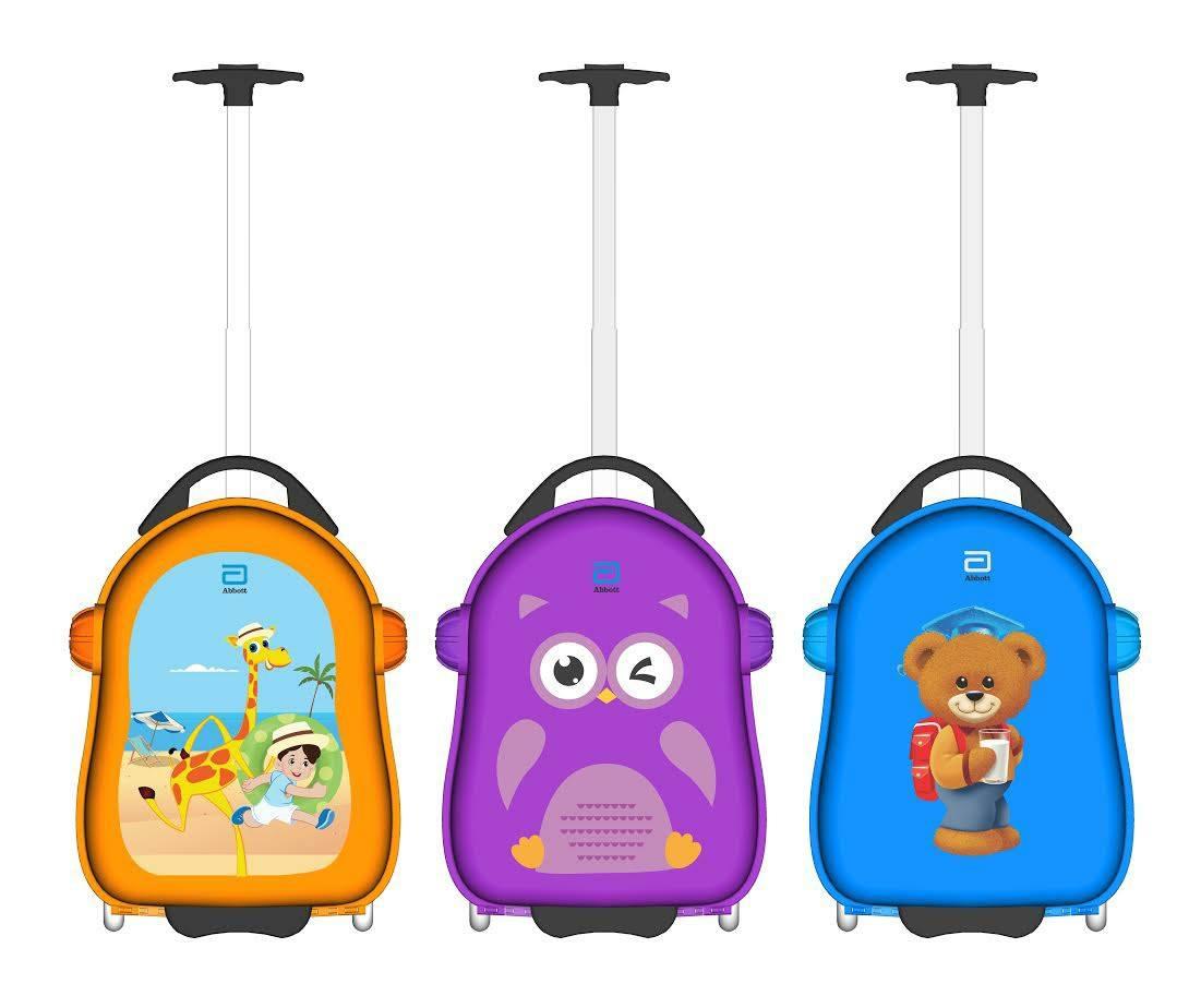 Vali kéo nhựa cứng Abbott (có 3 mẫu)