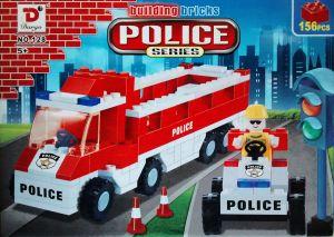 Bộ xếp hình xe cảnh sát