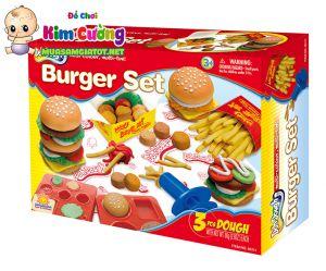 Đất Nặn: Burger Set