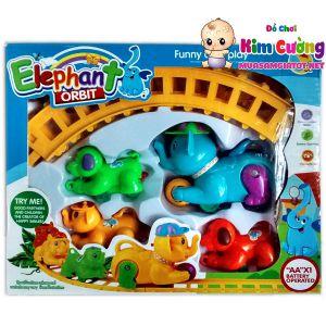 Hộp xe lửa con voi 628