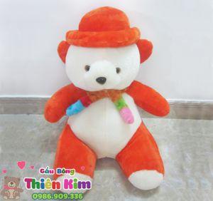 Gấu Nón Choàng Khăn