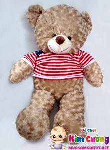 Gấu teddy cờ mỹ