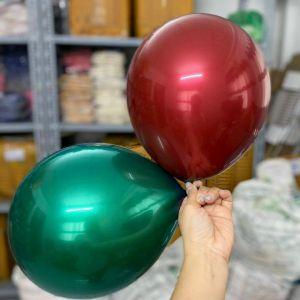 Set 10 cái bong bóng lồng sẵn 2in1 (xanh/đỏ)
