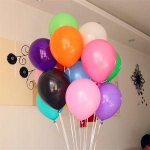 Bịch 50 bong bóng tròn không nhũ 25cm (12 màu)
