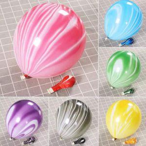 Set 10 bong bóng cao su sơn thủy 25cm