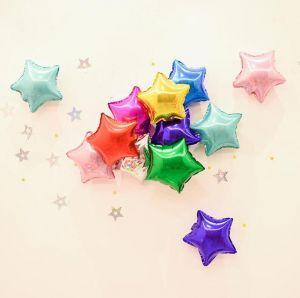 Bong bóng kiếng ngôi sao cỡ nhỏ 12,5cm