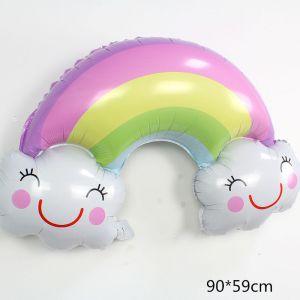 Cầu vồng đám mây màu pastel khổng lồ 90cm