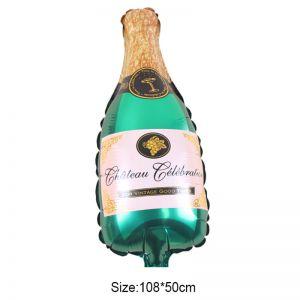 Bong bóng kiếng chai rượu Xanh lớn 100cm