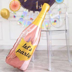 Bong bóng kiếng chai rượu Let's Party 106cm