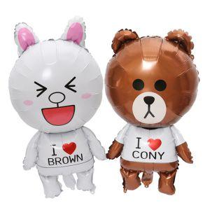Bong bóng kiếng mini con Gấu Brown/Thỏ Cony/Vịt Sally 40cm
