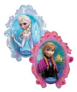 Bong bóng kiếng hình gương Elsa Anna 80cm