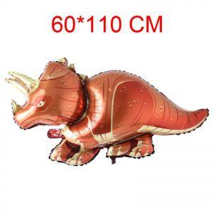 Bong bóng kiếng hình Khủng long có sừng 110 x 60cm