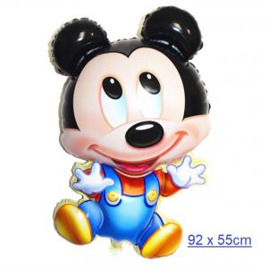 Bong bóng kiếng Mickey lớn 92 x 55cm