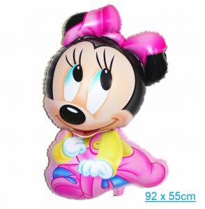 Bong bóng kiếng Minnie lớn 92 x 55cm