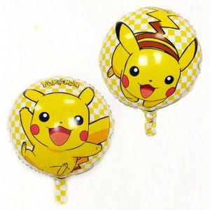 Bong bóng kiếng tròn Pikachu 45cm