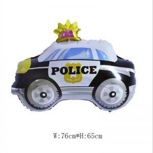 Bong bóng kiếng Xe cảnh sát 76cm