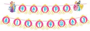 Dây chữ sinh nhật 2 tầng mẫu Công Chúa