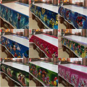 Khăn trải bàn sinh nhật 1,8m x 1,08m (có nhiều mẫu)