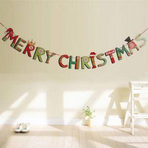 Dây treo chữ MERRY CHRISTMAS