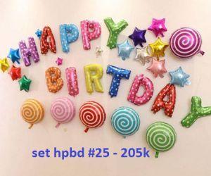 Set bong bóng kiếng trang trí sinh nhật #25