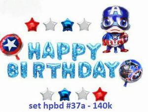 Set bong bóng kiếng trang trí sinh nhật #37