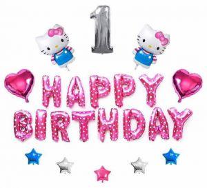 Set bong bóng kiếng trang trí sinh nhật #41
