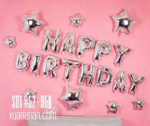 Set bong bóng kiếng trang trí sinh nhật #52