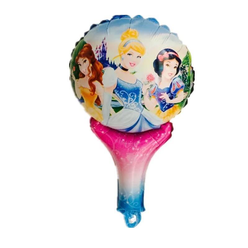 Bong bóng kiếng cầm tay hình công chúa 45cm