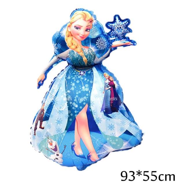 Bong bóng kiếng hình Elsa lớn 90cm