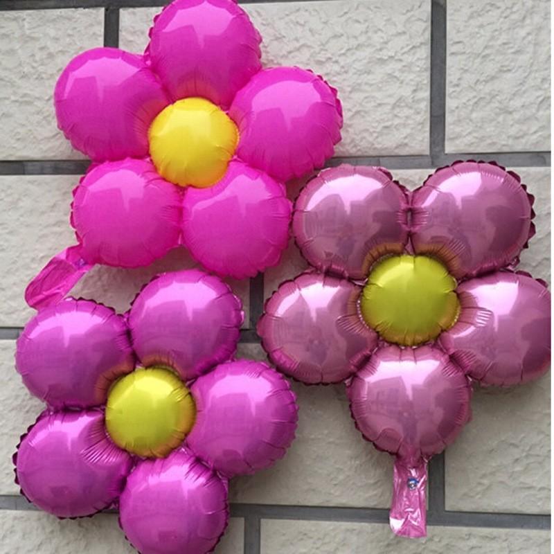Bong bóng kiếng Hoa 5 cánh 45cm (có nhiều màu)
