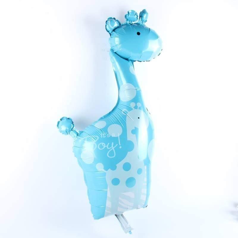 Bong bóng kiếng mini hình Hươu cao cổ (xanh/hồng)