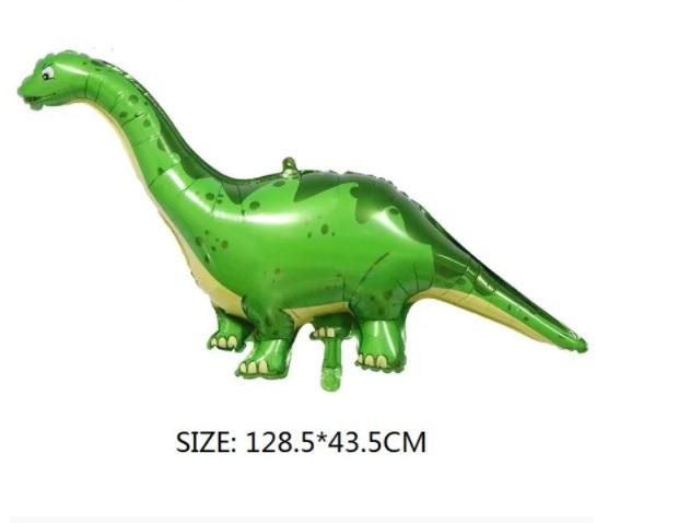 Bong bóng kiếng Khủng long xanh đuôi nhọn 128cm